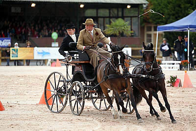 Old and New Talents Dominate Sixth FEI World Driving Championships for Combined Ponies