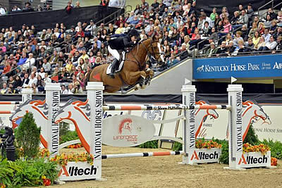 Katie Dinan and Nougat Du Vallet Fly to Alltech $250,000 Grand Prix Win at Alltech National Horse Show