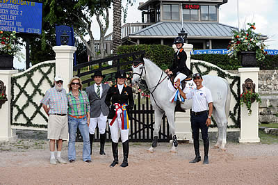 Team Step by Step Jump-Start 2014 Fundraising in Winning Way at ESP Holiday Festival Horse Shows