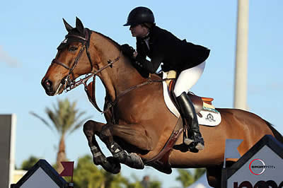 Tiffany Foster and Victor Victorious in $34,000 WEF Challenge Cup