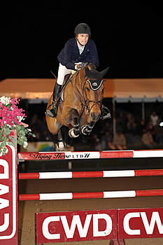 Saer Coulter and Springtime Own the Clock, Win $50,000 Strongid C 2X CSI-W2* Grand Prix at HITS Thermal