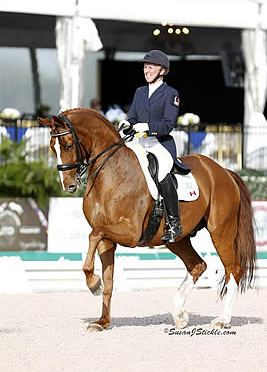 Diane Creech and Devon L Display Solid Performances in the CDI4*