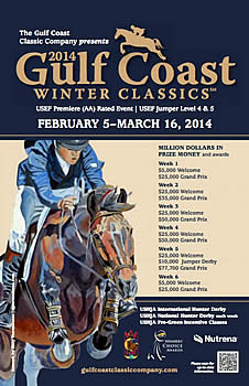 Conquer the Water Jump and Liverpool at USHJA Zone 4 and Gulf Coast Winter Classics FREE Clinics