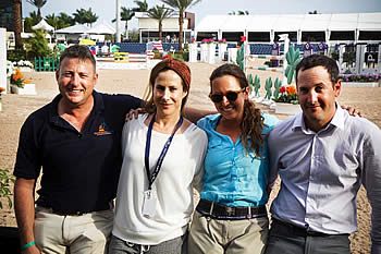 Israeli Equestrian Team Debuts at the Furusiyya FEI Nations Cup