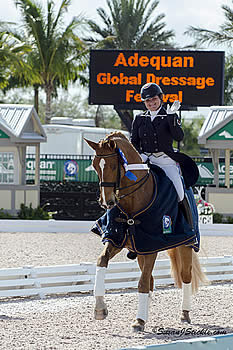 Tanya Strasser-Shostak Wins Florida International Youth Dressage Championships