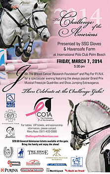 Top Dressage Riders and Showjumpers Team Up to Support Breast Cancer Research