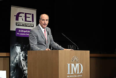 FEI Sports Forum Opening Sessions Focus on Event Classification and Arena Footing