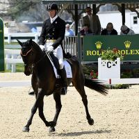 3rd place - Doug Payne (USA) riding Crown Talisman