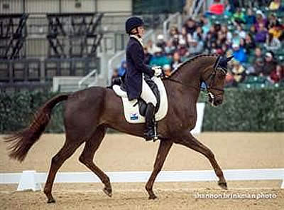 Springer Soars to Top Following Dressage at Rolex Kentucky Three-Day Event