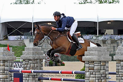 Emanuel Andrade and Carboni 3 Capture High Junior Jumpers Win at Kentucky Spring Classic