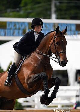 Caitlin Boyle Crowned R. W. Mutch Equitation Champion at Devon Horse Show