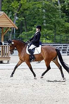 Hart Gains Early Lead in the USEF Para-Equestrian Dressage National Championship and Selection Trial