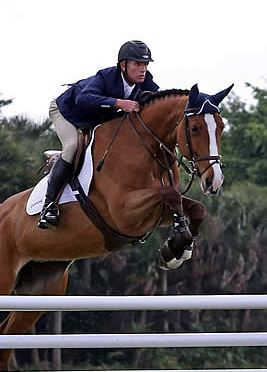 Charlie Jacobs and Cassinja S Score Winning Trifecta at Spruce Meadows