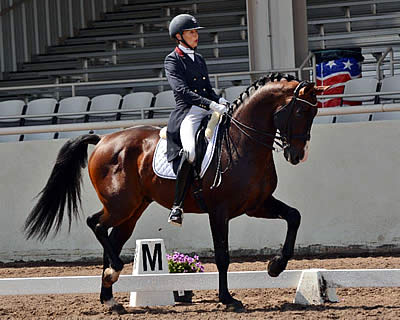 Charlotte Jorst Qualifies Nintendo and Vitalis for US Dressage Festival of Champions