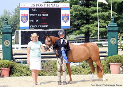 Smitten and Enjoy the Laughter Lead the Way on Opening Day at 2014 USEF Pony Finals