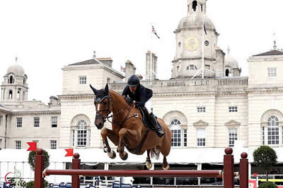 Laura Kraut and Andretti S Go Double-Clear, Finish Fourth at GCT London