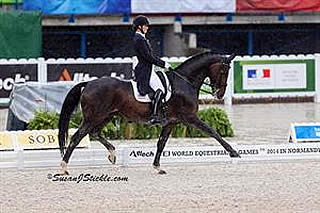 Lyle Leads the Way for US on First Day of Dressage Team Championship at WEG