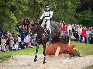 Martin in Ninth after Challenging Cross Country Day at WEG