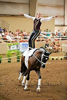 Vaulting National Champions Crowned in Oregon