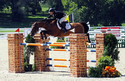 Sharn Wordley Snags 1.40m Open Jumpers Victory at Bluegrass Festival Horse Show