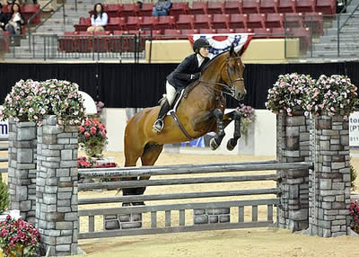 Victoria Colvin Repeats Equitation Victory at 2014 Capital Challenge Horse Show