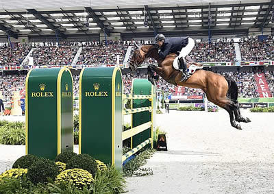 Riders from Four Different Nations through to Final Four at WEG