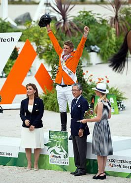 Dubbeldam Makes It Double-Dutch Gold