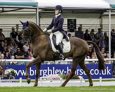 Springer in Third after Day One at Land Rover Burghley Horse Trials