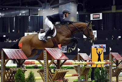 Farrington Guides Waomi to Opening Day $45,000 Speed Stake Win at National Horse Show