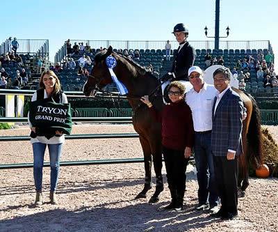 Amanda Flint Wins Salamander Resort & Spa Grand Prix at Tryon International Equestrian Center
