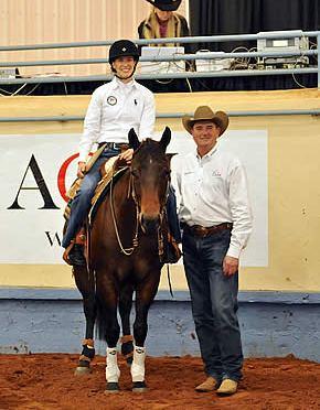 2014 American Quarter Horse World Championship Show Schedules Para-Reining Demonstration
