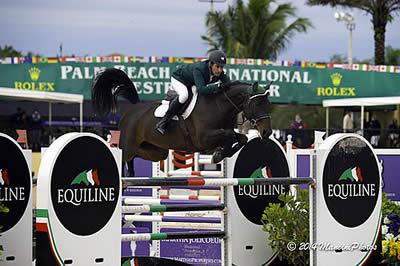 Kevin Babington and Shorapur Win $34,000 Holiday & Horses Opener at PBIEC