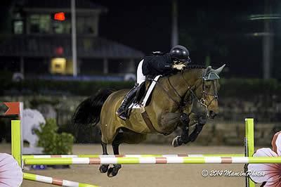 Kaitlin Campbell & Rocky W Top $35k Sweet Oak Farm Grand Prix at SFHJA Charity Horse Show