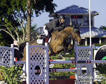 Ronan McGuigan and Capall Zidane Top $34,000 1.45m at Holiday & Horses Show