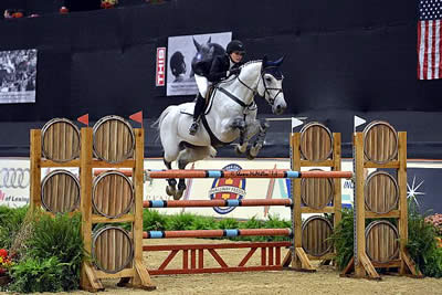 Catherine Tyree Seals $20,000 SJHOF Jumper Championship Victory at NHS