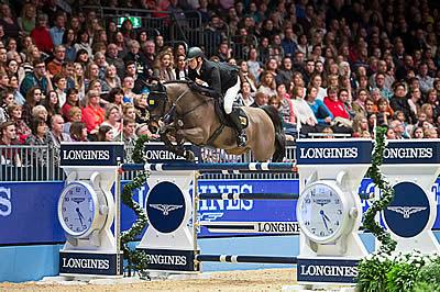 Kutscher Is King at Longines Leg in Olympia