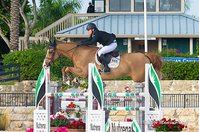 Sharn Wordley and Hickstead's Axel Top $25,000 ESP Year End Grand Prix