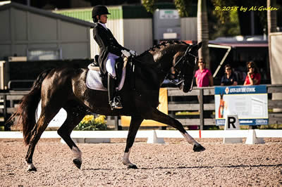 Caroline Roffman Coaches Student to a Successful Grand Prix Debut