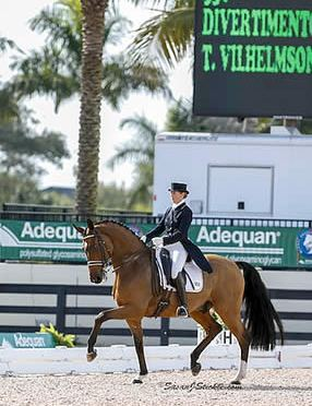 Vilhelmson-Silfven and Divertimento Capture First Win of Season in FEI Grand Prix Special at AGDF