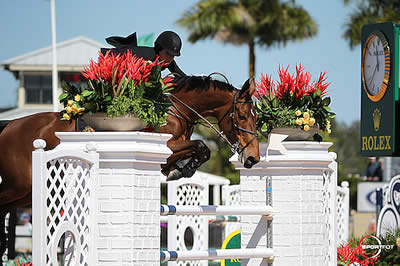 Jessica Springsteen and Davendy S Win $34k Spy Coast Farm 1.45m Speed at 2015 WEF