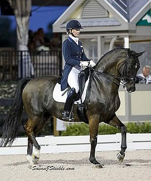 Bateson Chandler and Alcazar Capture Their First Win of AGDF Season in FEI Grand Prix Special
