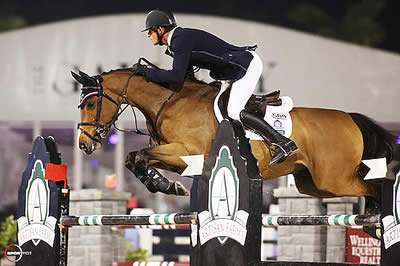 Laurenz Buhl and River Dance Semilly Win $25k Artisan Farms Under 25 Grand Prix Semi-Final
