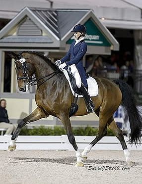 American Women Sweep Top Three at AGDF 9 FEI Grand Prix Freestyle
