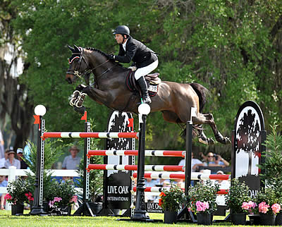 Cian O'Connor Wins Live Oak International CSI2*W Grand Prix and World Cup Qualifier