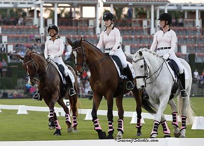 WEG Athlete Annie Peavy Rides Lancelot Warrior for the Fight against Breast Cancer