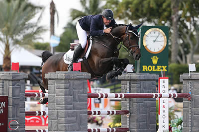 Hardin Towell and Lucifer V Win $127,000 Ruby et Violette WEF Challenge Cup Round 9