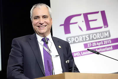 FEI Sports Forum Turns Focus to Future of Para-Equestrian Dressage and Non-Olympic Sports