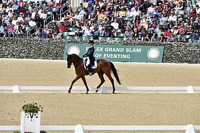 Michael Jung Dominates Rolex Kentucky Three-Day Event on Day 2 Dressage