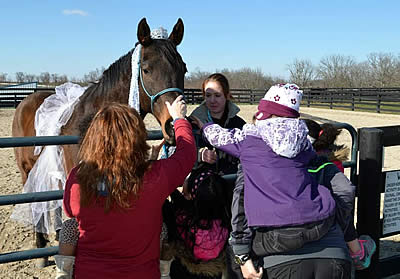 Maker's Mark Secretariat Center Partners with RunTheBluegrass to Offer Family Fun Day