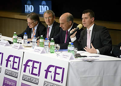 IOC Sports Director Speaks on Olympic Agenda 2020 at FEI Sports Forum